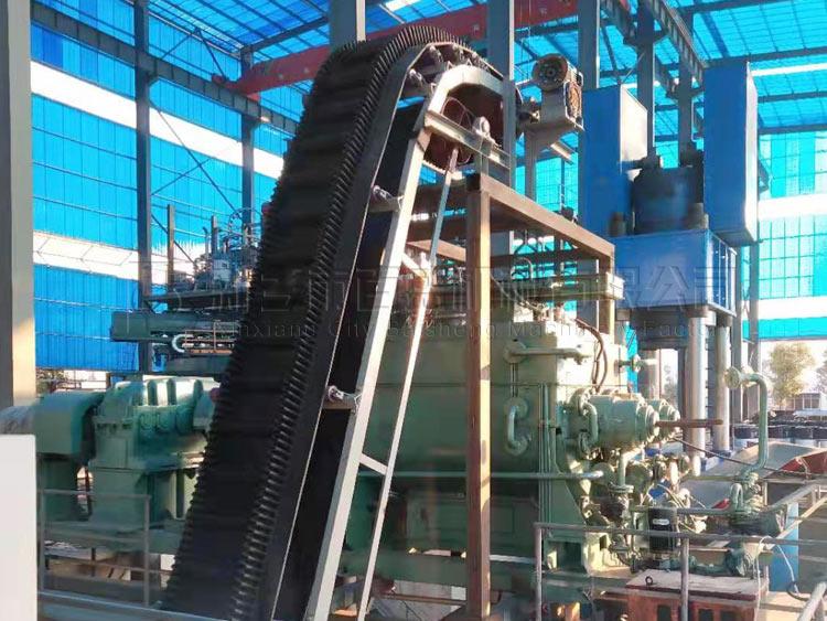 重庆碳素公司石油焦大倾角皮带输送机项目