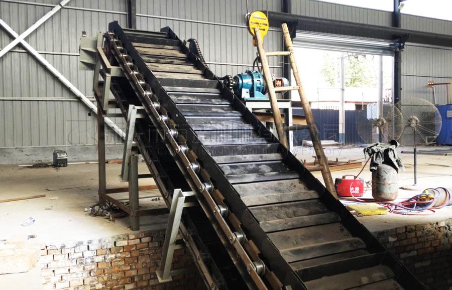 河北铸造件链板输送机项目