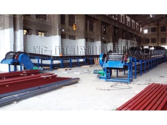 <b>湖南湘福建材链板输送机项目</b>