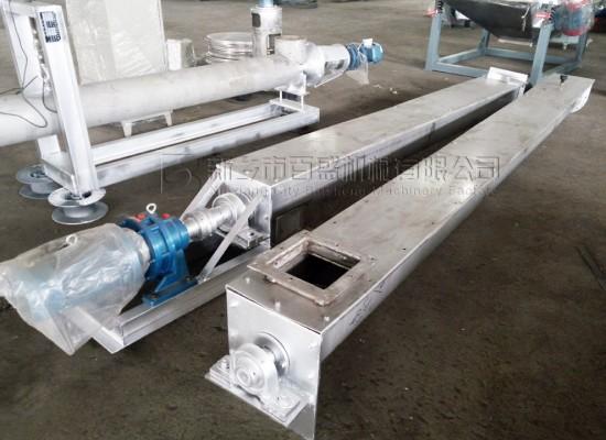 新疆维吾尔盐湖盐业定量螺旋输送机项目